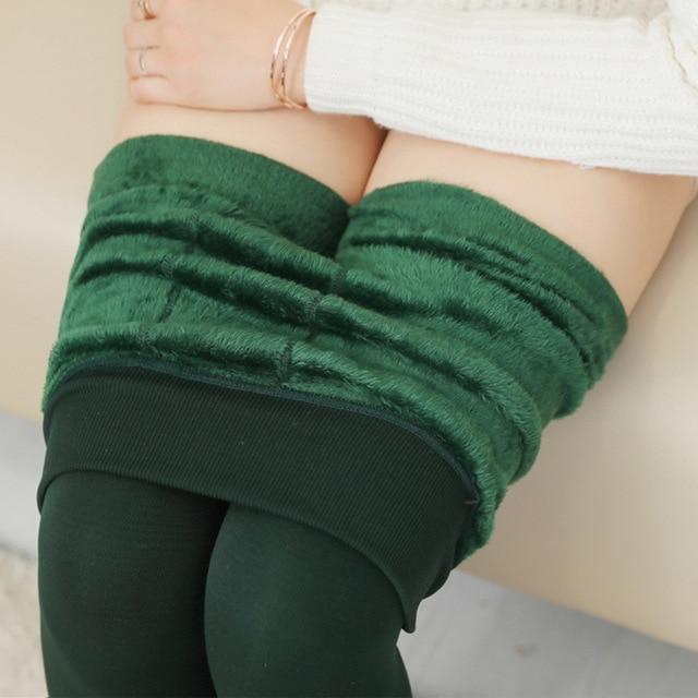 Women's Autumn And Winter Leggings Green / S Trendy Joys