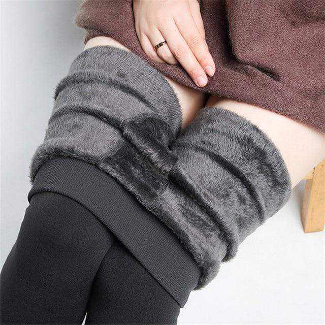 Women's Autumn And Winter Leggings Grey / S Trendy Joys