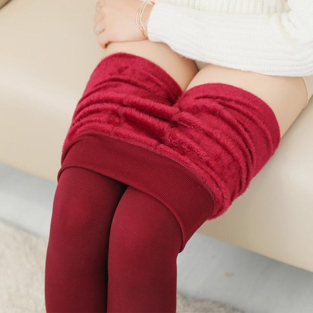 Women's Autumn And Winter Leggings Red / S Trendy Joys