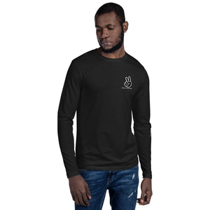 JOT Protect Your Peace Long Sleeve Fitted Crew