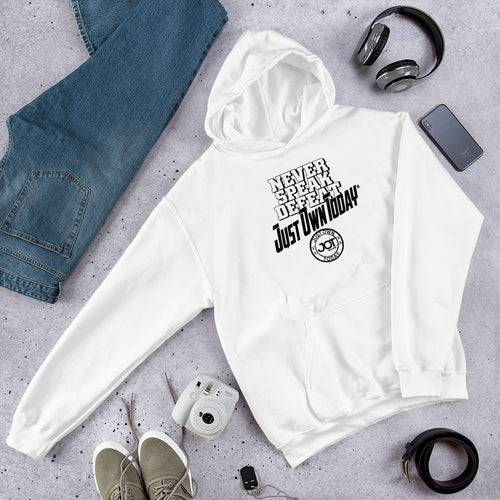 Never Speak Defeat JOT Hooded Sweatshirt