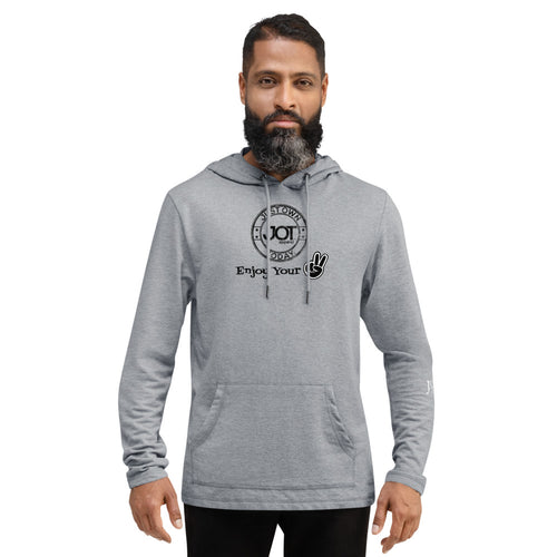 JOT Enjoy Your Peace Unisex Lightweight Hoodie