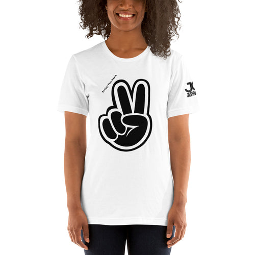 JOT Peace all Over Short-Sleeve Unisex T-Shirt