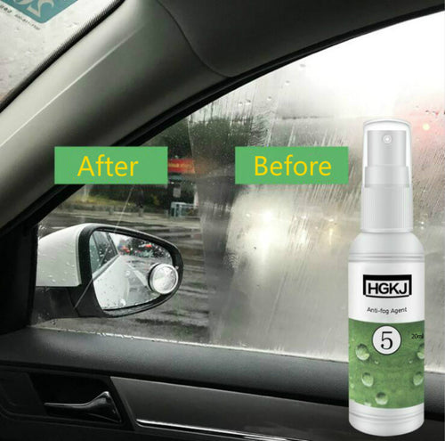 Anti-fog Spray Window Cleaning