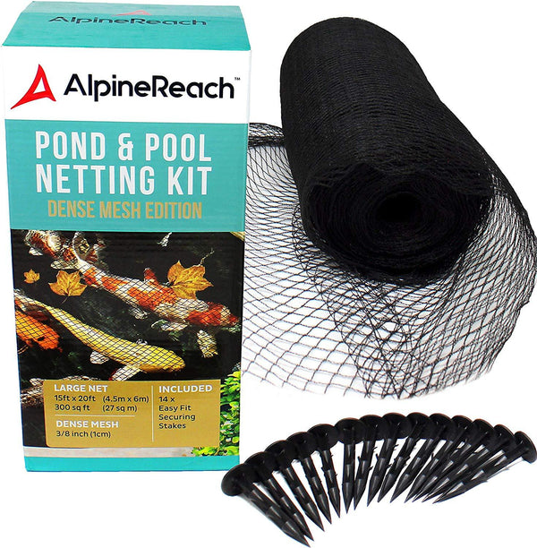 AlpineReach 15 x 20 Feet Koi Pond Netting Kit - AlpineReach