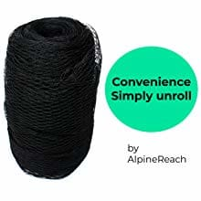 AlpineReach Koi Pond Netting Kit Convenience Simply Unroll