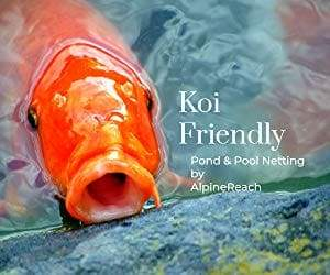 AlpineReach 14 x 14 Feet Koi Pond Netting Kit