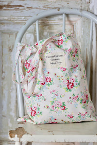 Exclusive Inspired Living Tote - White Floral