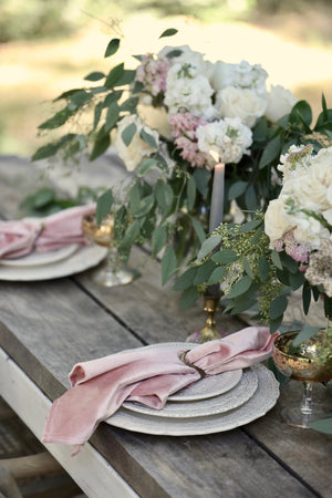 Everyday Elegance Velvet Tablecloths