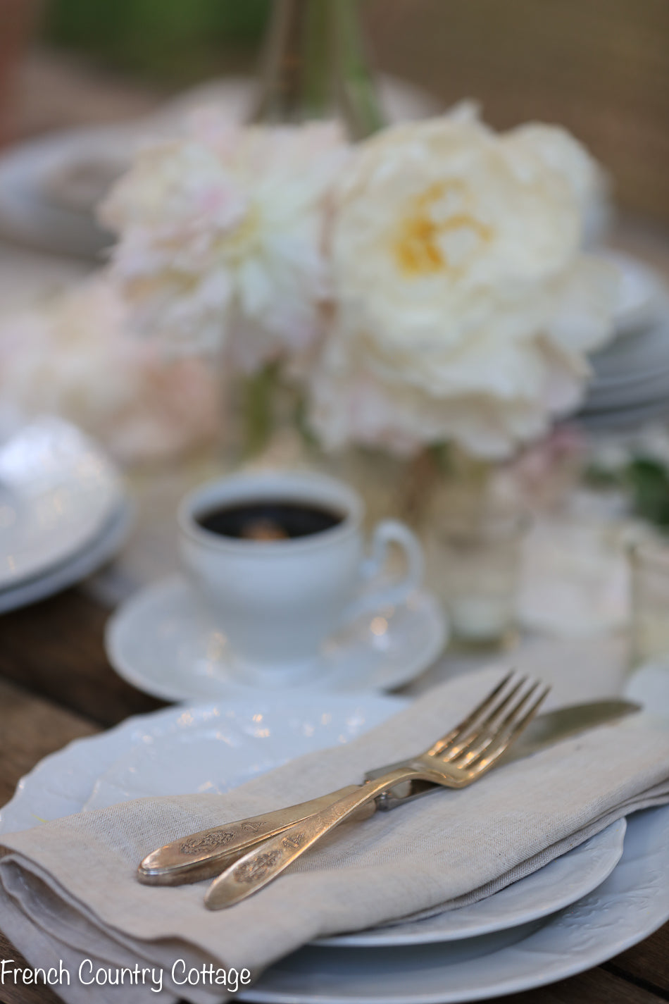 French Cottage 5 Piece Place Settings