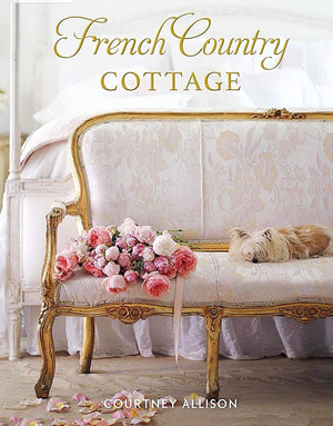 Floral Tote & Signed Copy of French Country Cottage