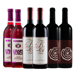 6 Bottle (Mixed) Passover Box