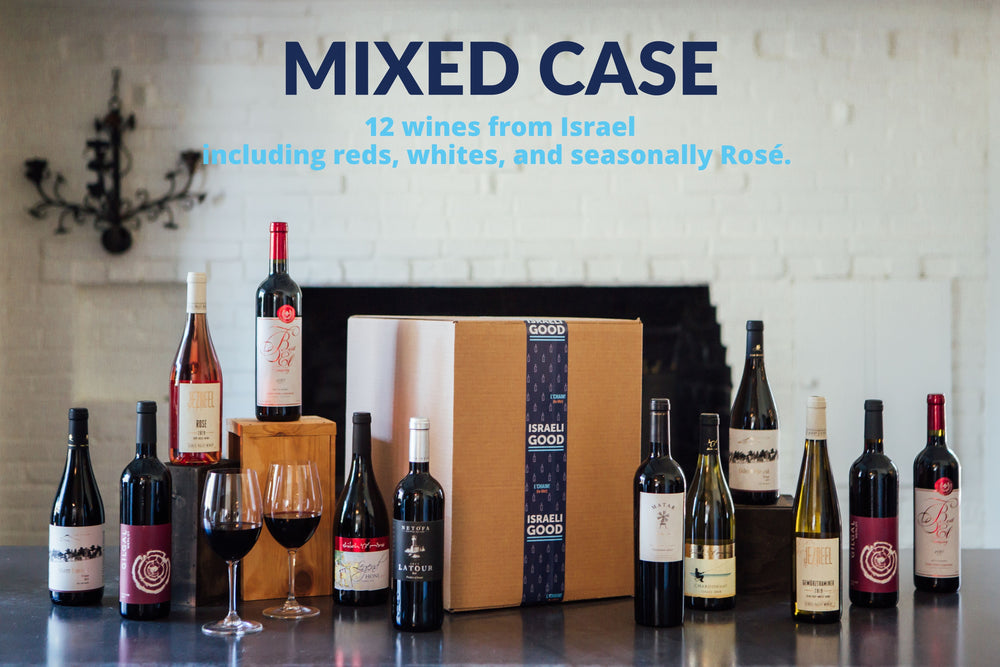 Israeli Good Quarterly Subscription - Mixed Case (12 Bottles)