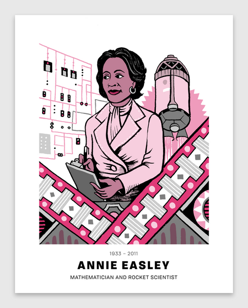 Annie Easley Poster
