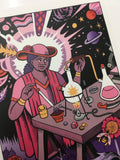 Image of the Magician science tarot card