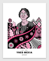 Ynes Mexia Poster