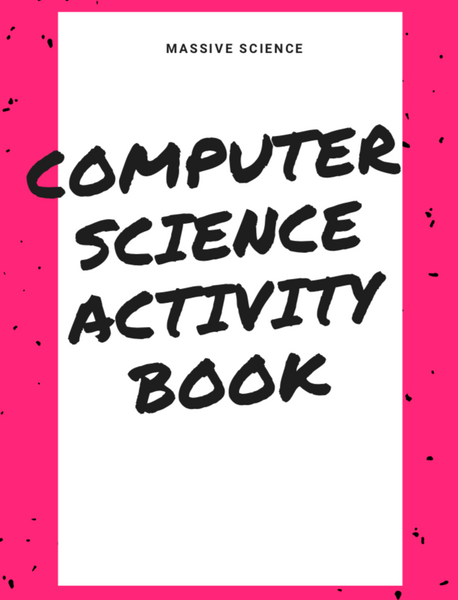 computer science activity book