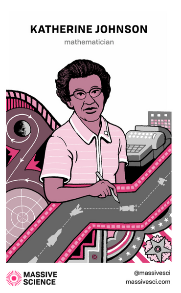 katherine johnson poster