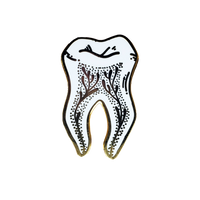 gold tooth pin