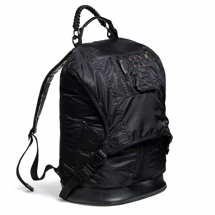 DP MA-1 Jacket Backpack in midnight black