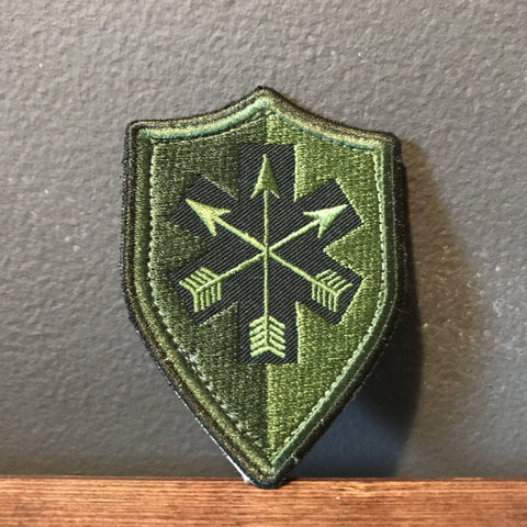 SOARescue Olive Drab Shield Patch