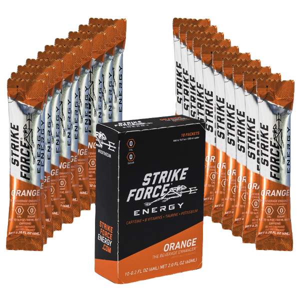 Strike Force Energy Packets- 10 Count Box