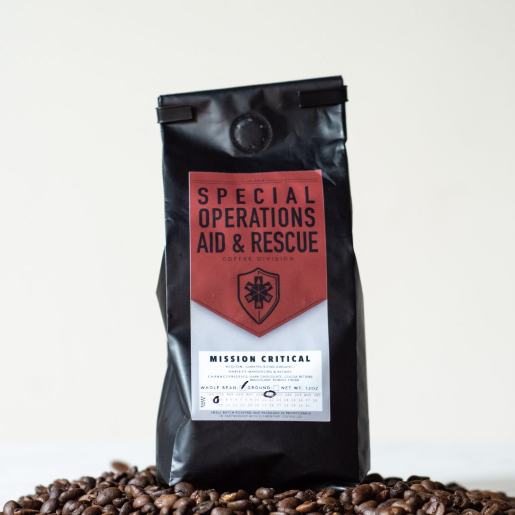 SOARescue Mission Critical Blend Coffee