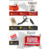 Public Access Bleeding Control 5-Pack -Vacuum Sealed