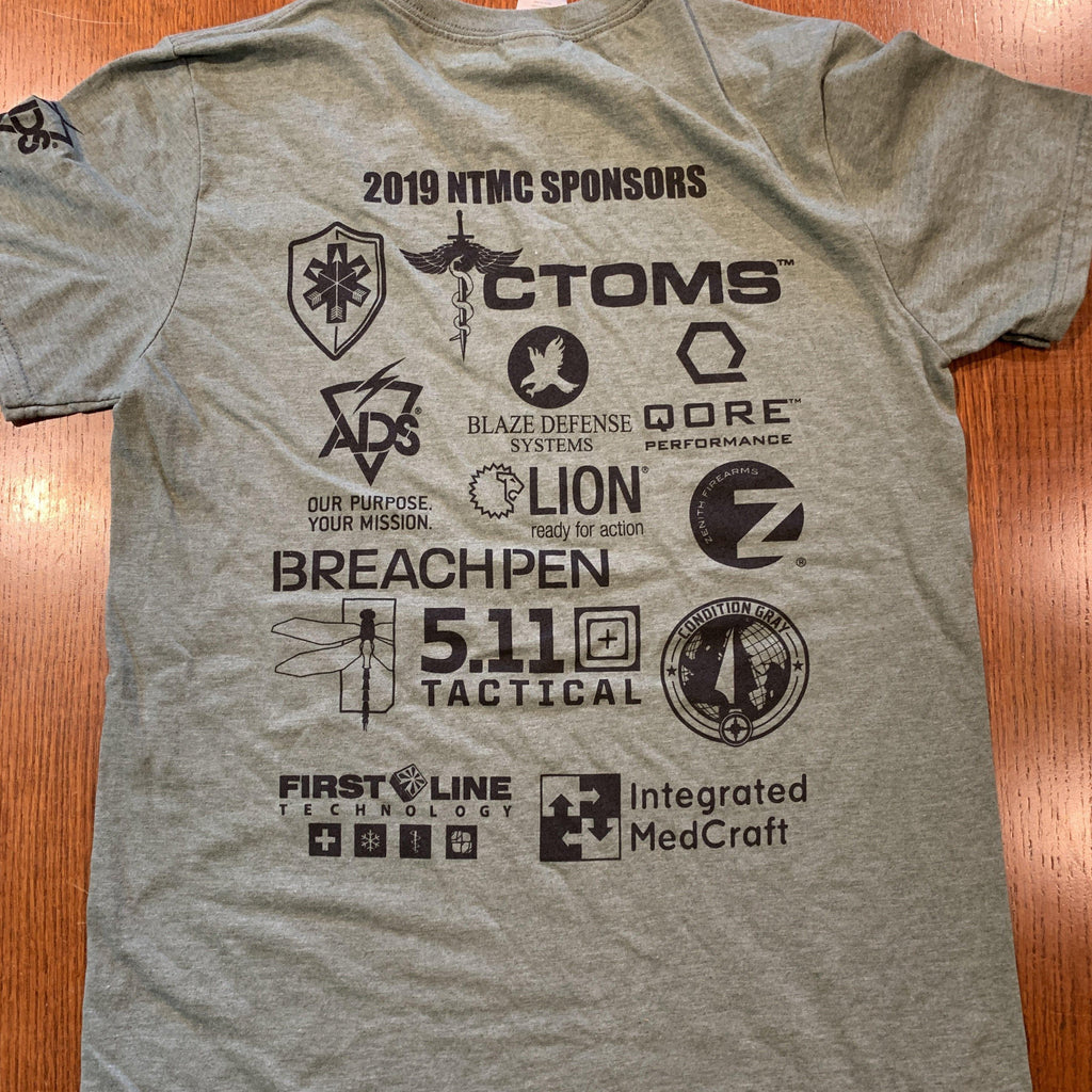 2019 National Tactical Medicine Competiton T Shirt