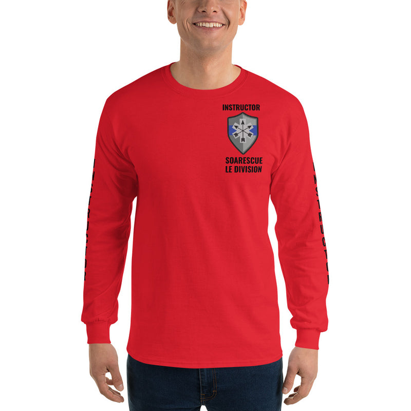 SOARescue LE Division Red Long Sleeve Shirt