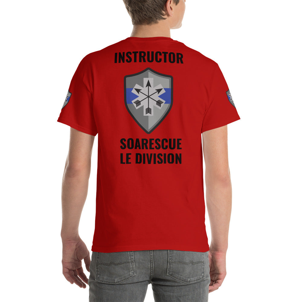 SOARescue LE Division Red Short Sleeve Shirt