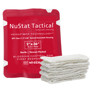 "NuStat Tactical Hemostatic Dressing 2"" x 36"""