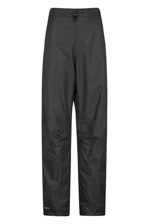 Mountain Warehouse Spray Womens Waterproof Pants Black Sz 4-infinitote.com
