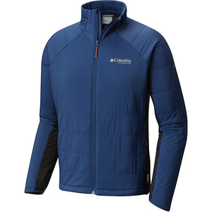 Columbia Men's Alpine Traverse Insulated Jacket Blue Sz L-infinitote.com