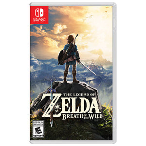 Legend of Zelda: Breath of the Wild (Nintendo Switch, 2017) GAME ONLY-infinitote.com