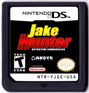 Jake Hunter: Detective Chronicles (Nintendo DS, 2008) GAME ONLY-infinitote.com