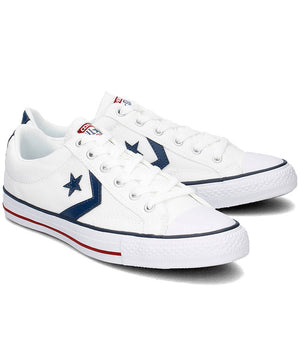 Converse Star Player Ox 144151C Unisex Laced Canvas Sneakers M10/W12-infinitote.com
