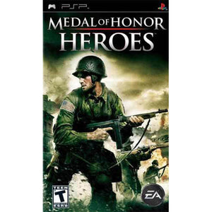 Medal of Honor: Heroes - Sony PSP, 2007 - UMD Game Only-infinitote.com