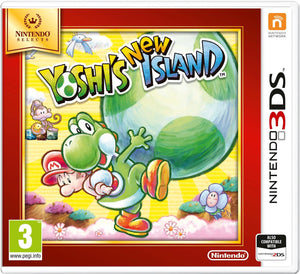 Yoshi's New Island (Nintendo 3DS, 2014) - Game Only European PAL-infinitote.com