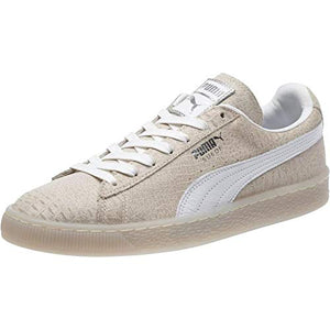 Puma Men's Suede Sneakers Holiday Whisper White Sz 9-infinitote.com