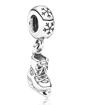 Authentic Pandora Ice Skate Dangle Charm 925 Silver 791025-infinitote.com