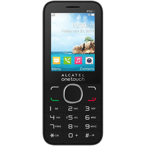 Alcatel OneTouch 2045X - Unlocked - Cellular Bar Phone - Black READ-infinitote.com