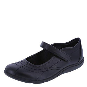 SmartFit Girls' Mollie Mary Jane Dress Shoes Black Sz 3-infinitote.com