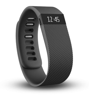 Fitbit Charge Activity Steps Tracker Pedometer Fitness Tracker - Black - Large-infinitote.com