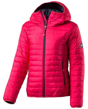McKinley Girls Rico II Insulated Jacket Pink Sz L (14-16)-infinitote.com