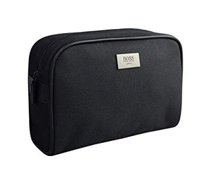 Hugo Boss Original Men's Black Toiletry Cosmetic Pouch Shaving Bag-infinitote.com