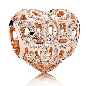Authentic Pandora Rose Charm Love & Appreciation 780003CZ-infinitote.com