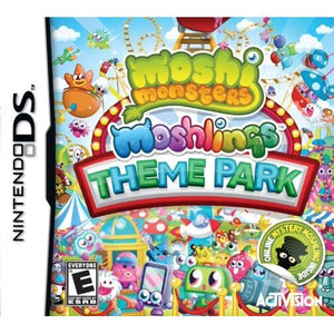 Moshi Monsters Moshlings Theme Park (Nintendo DS, 2012) Game Only-infinitote.com
