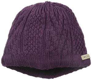 Columbia Parallel Peak™ II OmniHeat Knit Beanie Hat Purple O/S-infinitote.com