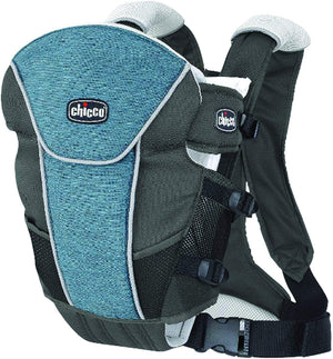 Chicco UltraSoft Limited Edition Infant Carrier Vapor Gray Turquoise-infinitote.com